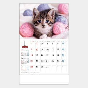 ワンニャンコンパクトカレンダー
