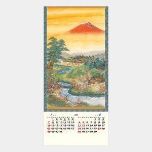 郷の四季(日本画)